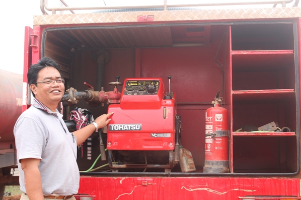 Our firefighting efforts in the News: Emergency Response Team